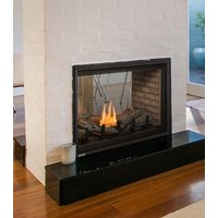 "Gas Fireplace - Residential - 38"" Classic Traditional See Through image"