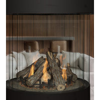 Gas Fireplace - Custom Commercial - Round CR4 Series (CR4-436) image