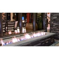 Gas Fireplace - Custom Commercial - Square Firepit image