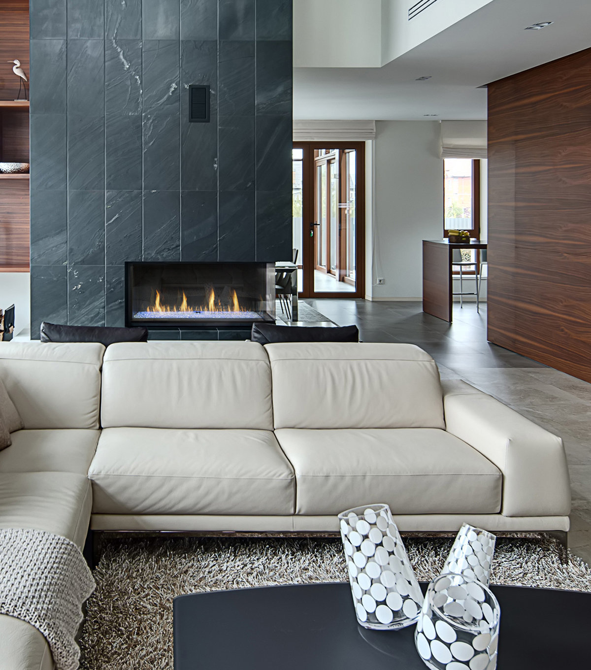 Gas Fireplace - Light Commercial - 4ft Modern Corner Left/Right