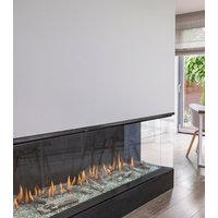 Gas Fireplace - Light Commercial - 6ft Modern Corner Left/Right image