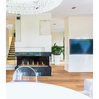 Gas Fireplace - Light Commercial - 5ft Modern Bay image