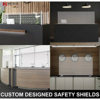 Countertop Safety Shield Systems image