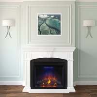 Electric Fireplace Mantel    image