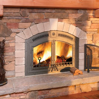 Wood Burning Fireplace image