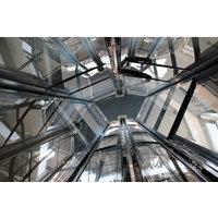 Home Elevators - Artisan Glass Elevator - Custom Shapes image