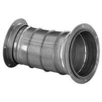 Flanged Long Radius Elbow 14 Gauge image