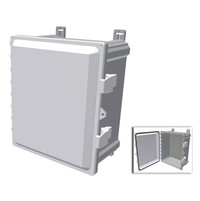 NEMA Enclosure - PC Plastic - Hinged Door - Multi-vendor AP image