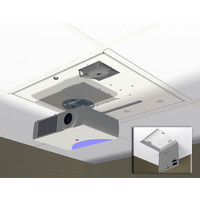 Suspended Ceiling Mount for Projector and Multimedia image