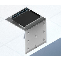 Suspended Ceiling Zone Enclosure for Pre-terminated Cabling Systems image