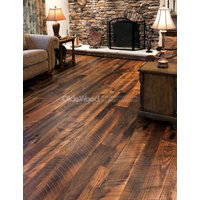 Reclaimed Antique Oak Hit-Skip Flooring image