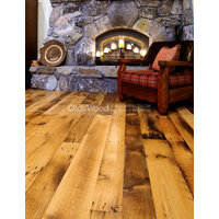 Reclaimed Antique Oak - Wide Plank Flooring image