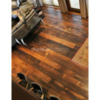 Reclaimed Antique Wormy Chestnut Flooring image