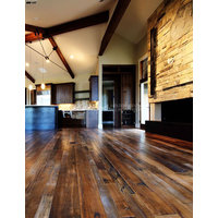 Reclaimed Antique Tobacco Pine Flooring image