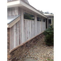 Pre-finished White Barn Siding image