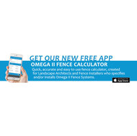 Omega II Fence Calculator App image