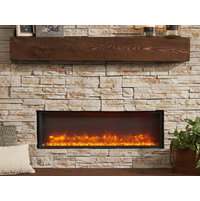 Built-In Linear Electric Fireplace image