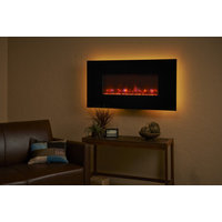 Wall-Mount Linear Electric Fireplaces image