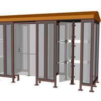 ALL-IN-ONE Canopy Turnstile image