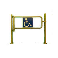 Waist High Bi-Directional Swing Gate image