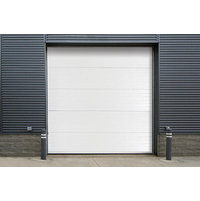 Insulated Sectional Steel-Back Doors image