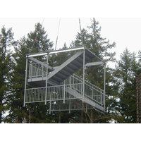 Stack-A-Shaft® stacking stair system image
