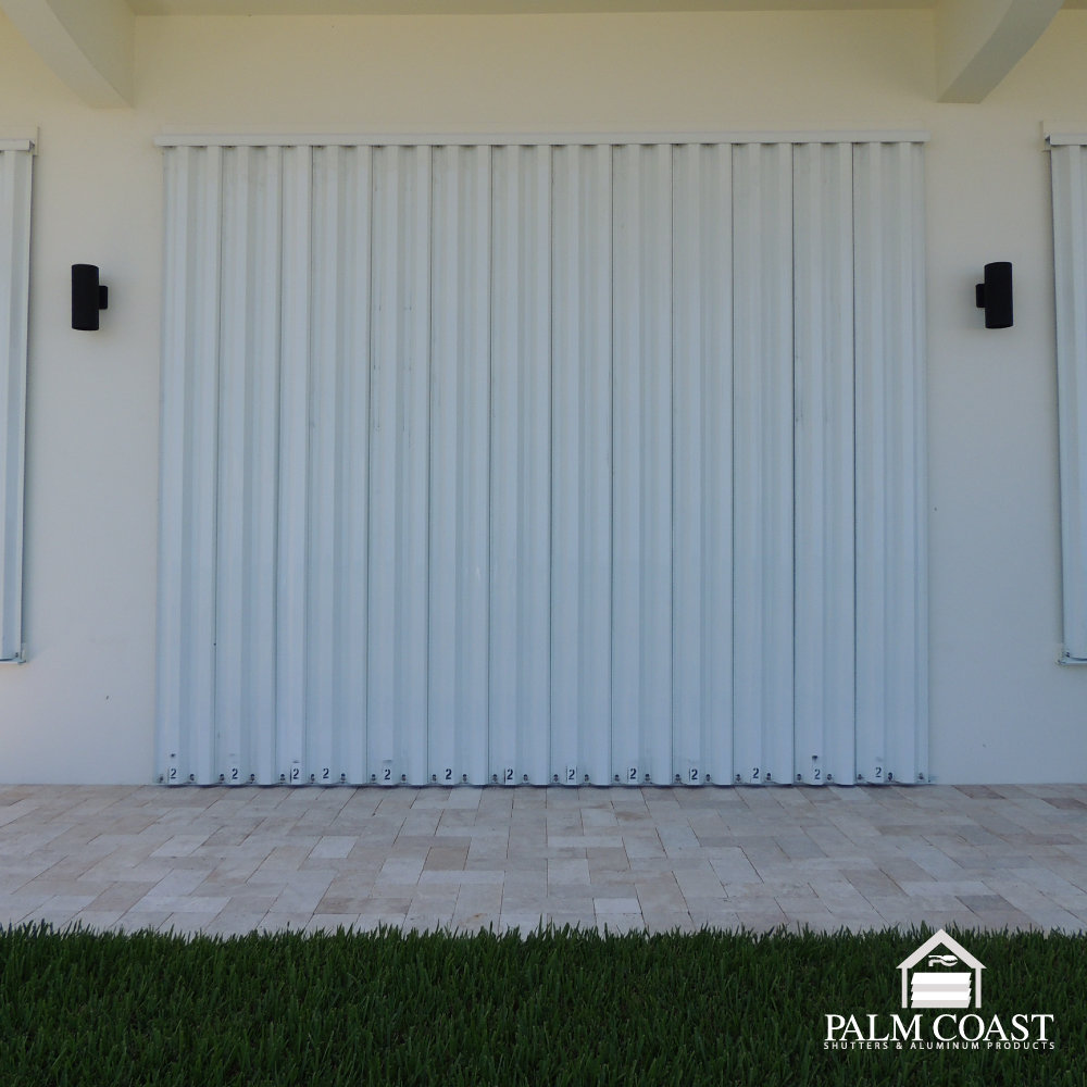 Aluminum Panels - Cost Effective Hurricane Protection