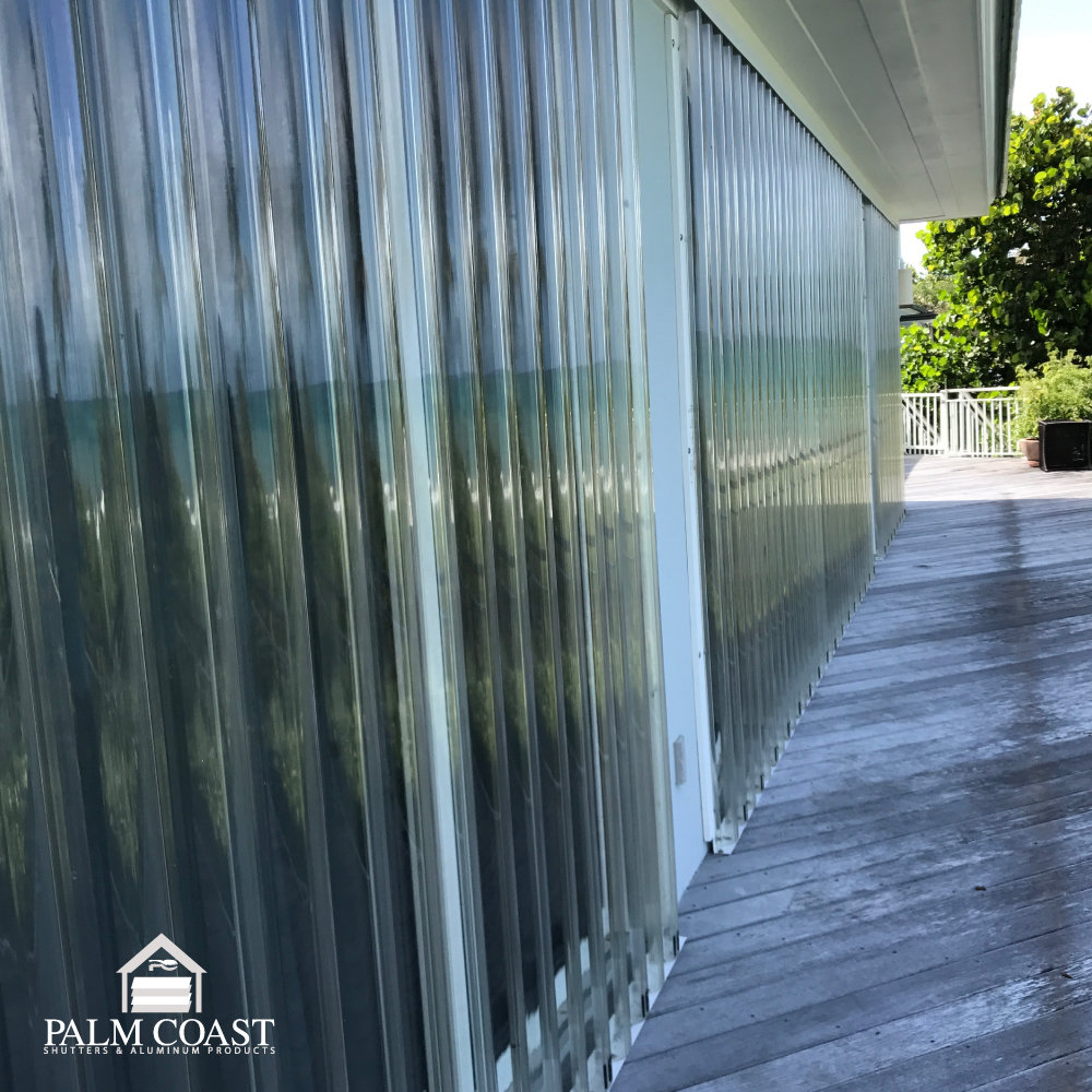 Clear Panels - Affordable Code-Approved Hurricane Protection