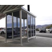 Prefabricated Shelters   Bus Shelters   Smoking Shelters image