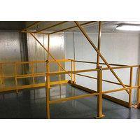 Safety Gate Options   Mezzanine Gates image