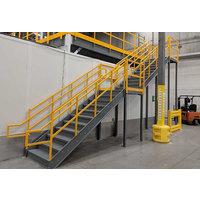 Prefabricated, Yet Custom Designed Metal Stairs image