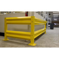 Barrier Rail and Safety Rail   Forklift Barriers image