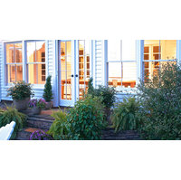 Phantom retractable door screen project in Millerton, NY image