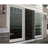Natural ventilation with retractable screens at New England home - Phantom Screens image