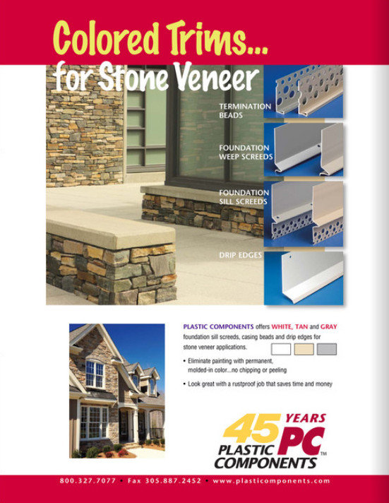 NEW - Color Trims for Stone Veneers