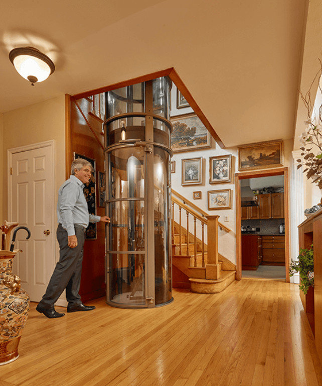Pneumatic vacuum elevators llc residential elevators for Elevator home cost