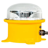 MEDIUM INTENSITY LED White Flashing Obstruction Beacon image