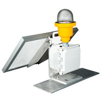 Portable or Permanent Solar Powered LED Obstruction Light image