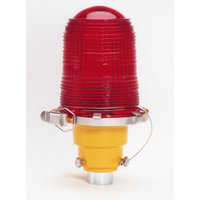 Single Obstruction Light with Edison Lamps image