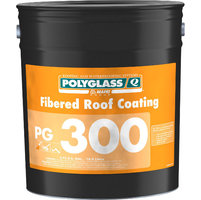 Solvent-Based Polyglass Fibered Roof Coating image