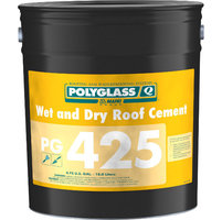 Polyglass Wet and Dry Roof Cement image