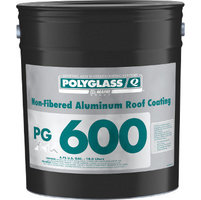 Polyglass Non-Fibered Aluminum Roof Coating image