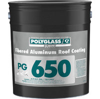 Polyglass Fibered Aluminum Roof Coating image