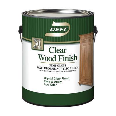 Interior Clear WB Acrylic Wood Finish