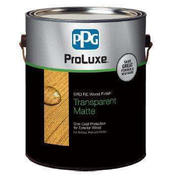 PROLUXE® SRD RE Wood Finish