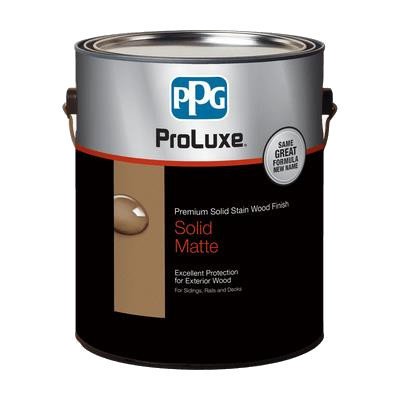 PROLUXE® Premium Solid Stain Wood Finish