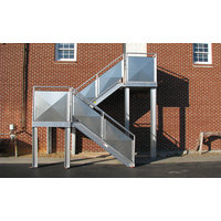 Fixed Aluminum Industrial Stairways image