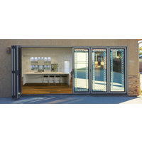 Accordion Bifold Door System image