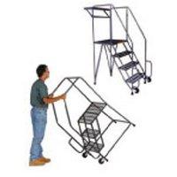 Aluminum Rolling Ladders image