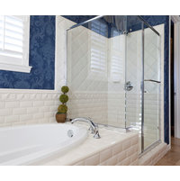Quality Shower Enclosures image   Semi-Frameless Enclosures